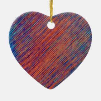 Bold Serenity Ceramic Heart Decoration