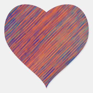 Bold Serenity Heart Sticker