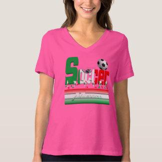 Bold Soccer Mexico Ladies Plus Size T-Shirt