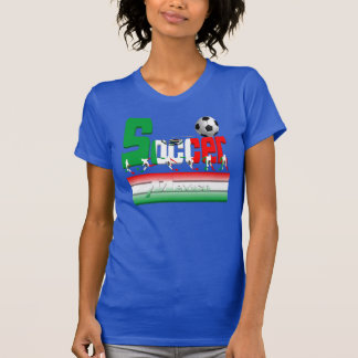 Bold Soccer Mexico Ladies Tank Top