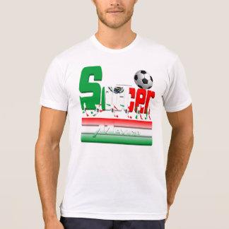 Bold Soccer Mexico Men's Poly-Cotton T-Shirt