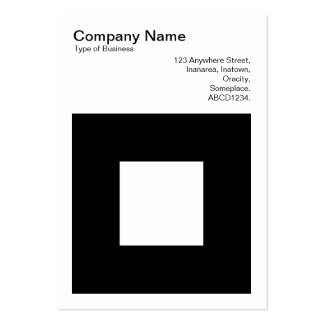 Bold Square Business Card Templates