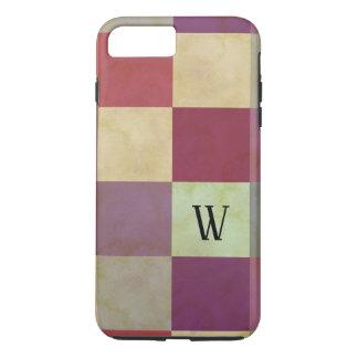 Bold Squares Pattern iPhone 8 Plus/7 Plus Case