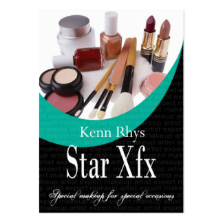 Bold Star Xfx Cosmetics Makeup Special Occasions Pack Of Chubby Business Cards