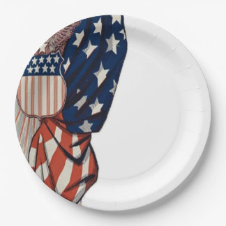 Bold Statement Veterans Day Party Paper Plates
