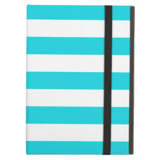 Bold Stripes Aqua iPad Air Case