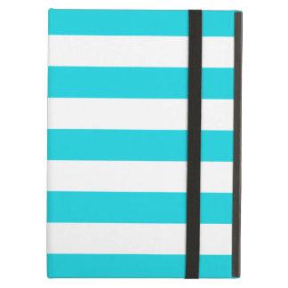 Bold Stripes Aqua iPad Air Case