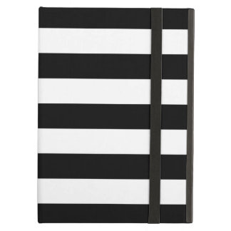 Bold Stripes Black and White iPad Air Case