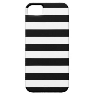 Bold Stripes Black and White iPhone 5 Case