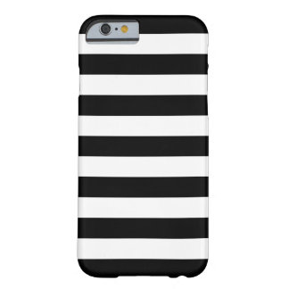 Bold Stripes Black and White iPhone 6 case Barely There iPhone 6 Case