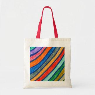 Bold Stripes Budget Tote Bag