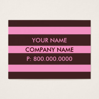 Bold Stripes Business Cards