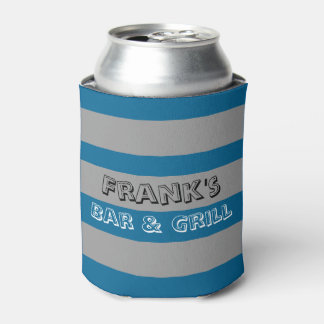 Bold Stripes Can Cooler