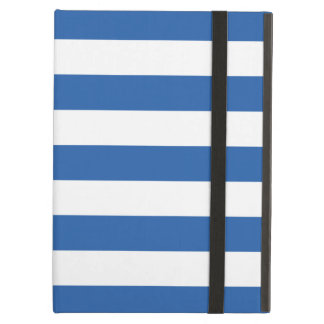 Bold Stripes Cobalt Blue iPad Air Case
