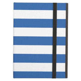 Bold Stripes Cobalt Blue iPad Air Case