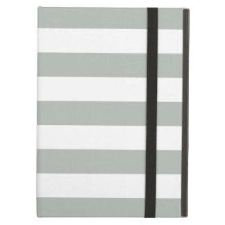 Bold Stripes Gray iPad Air Case