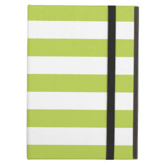 Bold Stripes Green iPad Air Case