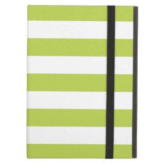 Bold Stripes Green iPad Air Case