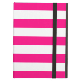 Bold Stripes Hot Pink iPad Air Case