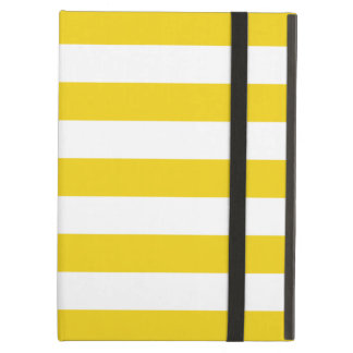 Bold Stripes Lemon Yellow iPad Air Case