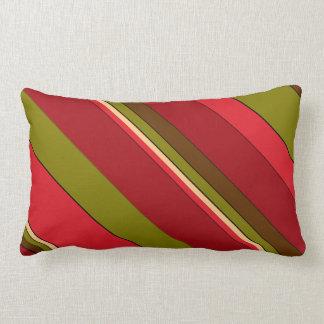 Bold Stripes Lumbar Cushion