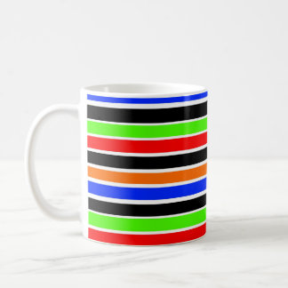 bold stripes mug