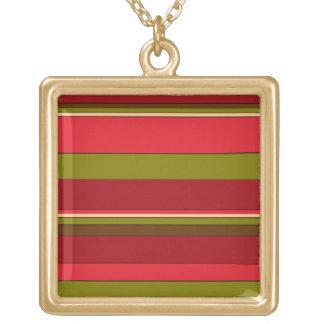 Bold Stripes Custom Necklace