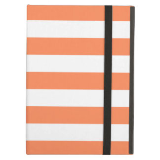 Bold Stripes Nectarine Orange iPad Air Case