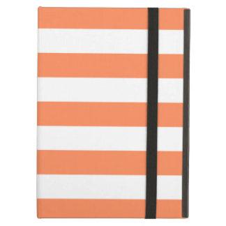 Bold Stripes Nectarine Orange iPad Air Case