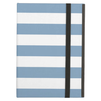 Bold Stripes Pale Blue iPad Air Case