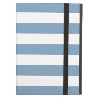 Bold Stripes Pale Blue iPad Air Case