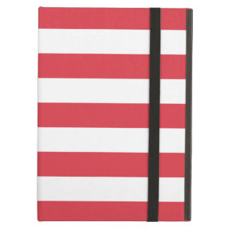 Bold Stripes Red iPad Air Case