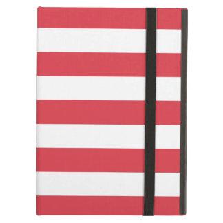 Bold Stripes Red iPad Air Case