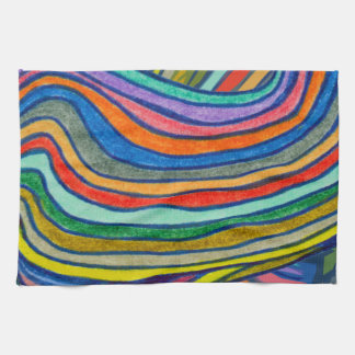 Bold Stripes Tea Towel