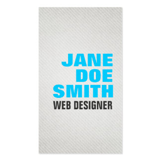 Bold & Stylish Pack Of Standard Business Cards