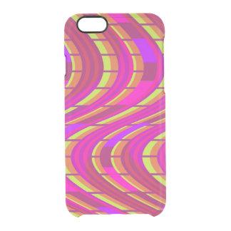 Bold Swirl Clear iPhone 6/6S Case