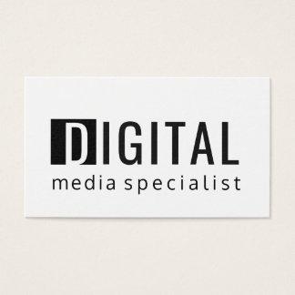 BOLD Technology Digital Social Media Specialist Business Card
