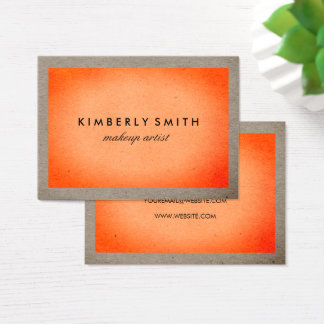 Bold Texture Business Card