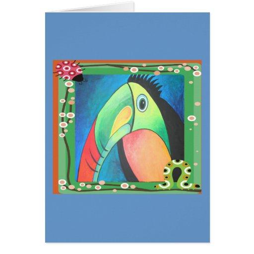 Bold Toucan Card