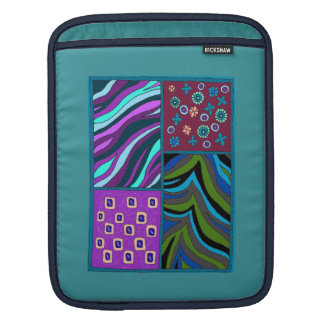 Bold Tropical Tapestry iPad Vertical sleeve