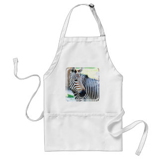 Bold Zebra Apron