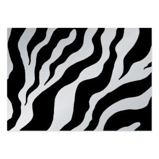 Bold Zebra Print  Business Card