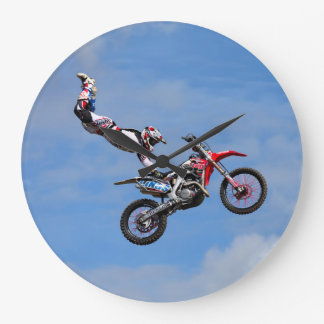 Bolddog Lings FMX Display Team Large Clock