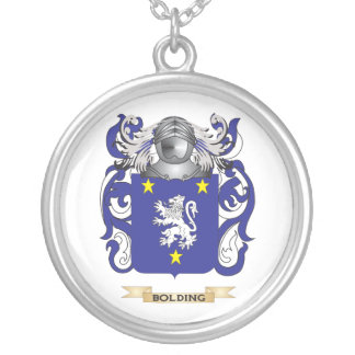 Bolding Coat of Arms Family Crest Pendant