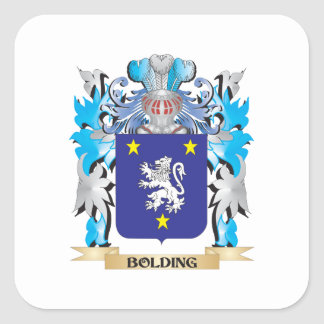 Bolding Coat of Arms Sticker