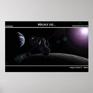 Boldly Go... Poster