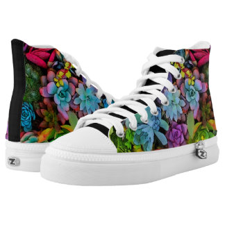Boldly Go Succulents Printed Shoes