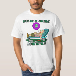Boldly Going Nowhere Lazy Father's Day T-shirts