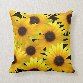 Boldly Sunny Sunflowers Cushion