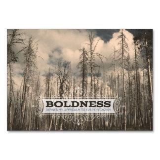 BOLDNESS CARD